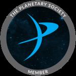 Member's Badge of The Planetary Society
